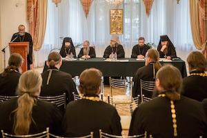 Состоялось расширенное заседание Епархиального совета