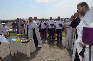 В Михайлове совершен молебен по случаю Дня города (+ видео)