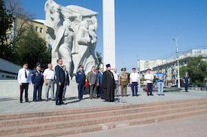 Председатель миссионерского отдела Рязанской епархии принял участие в митинге, посвященном 90-летию ДОСААФ России