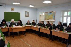В Рязанской православной семинарии прошел Ученый совет с участием архиереев митрополии