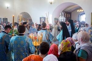 Престольный праздник в Солотчинском Рождества Богородицы женском монастыре