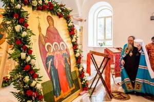 Престольный праздник в Спасо-Преображенской обители п. Пронска