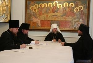 Состоялся Архиерейский совет Рязанской митрополии