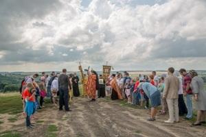 В Спасо-Преображенский Пронский монастырь доставлен ковчежец с частицами святых мощей мучениц Веры, Надежды, Любови и матери их Софии