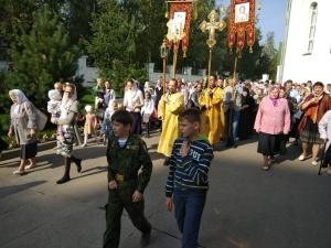 На приходе Александро-Невского храма встретили один из престольных праздников