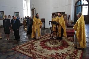 Рязань встретила церковное новолетие праздничным молебном в Успенском кафедральном соборе