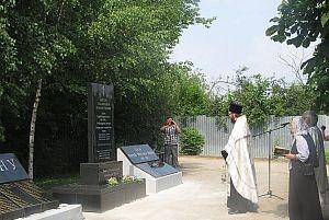 В поселке Никуличи состоялось открытие памятника, посвященного героям Первой Мировой войны