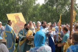 Прихожане храмов Юго-восточного благочиния побывали с паломнической поездкой в селе Новопанское