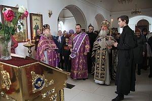 Празднование в честь Феодоровской иконы Божией Матери в Троицком монастыре